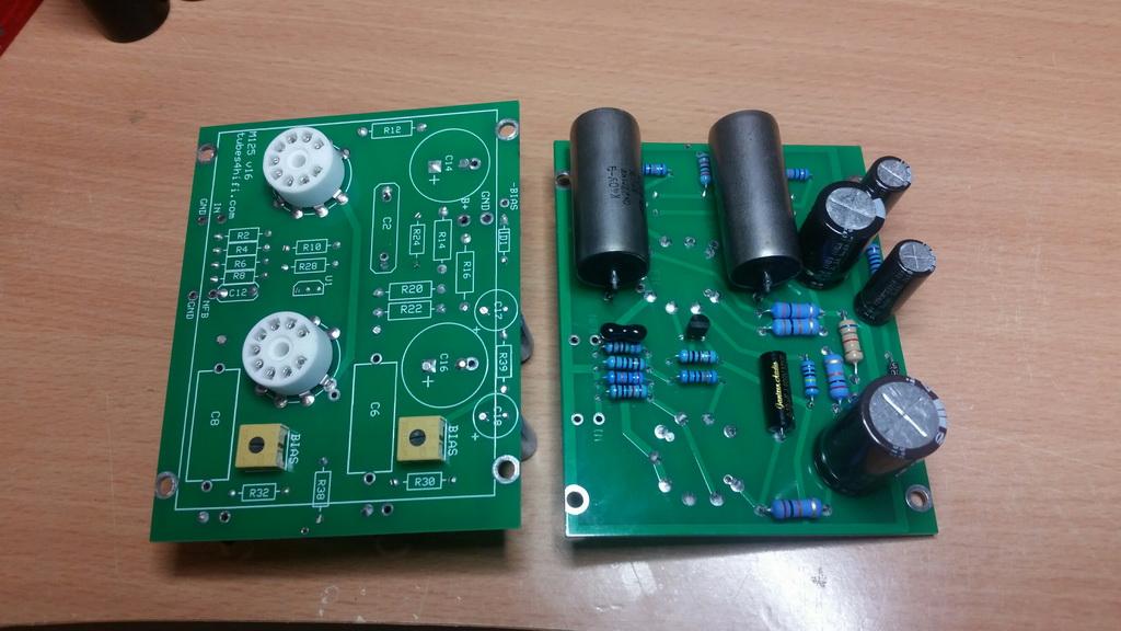My KT120 / M-125's Pcb_01